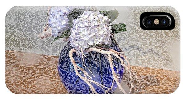 Surrealistic Blue  IPhone Case