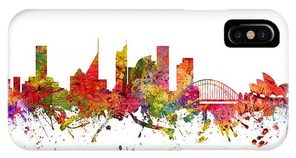 Sydney Australia Cityscape 08 IPhone Case