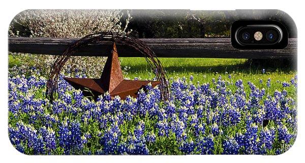 Texas Bluebonnets IIi IPhone Case