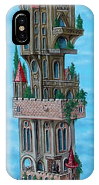 The Castle Of Air IPhone Case