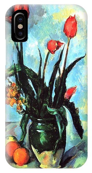 Tulips In A Vase IPhone Case