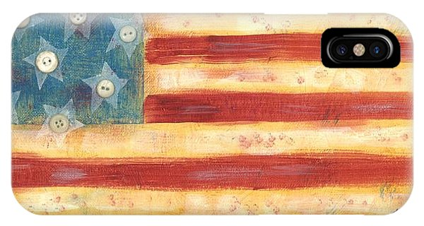 U.s. Flag Vintage IPhone Case