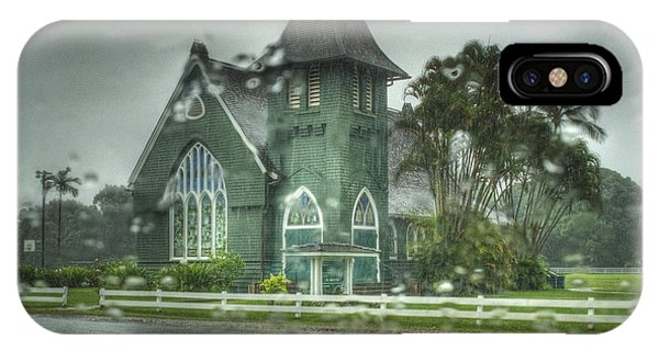 Waioli Huiia Church Kauai  IPhone Case