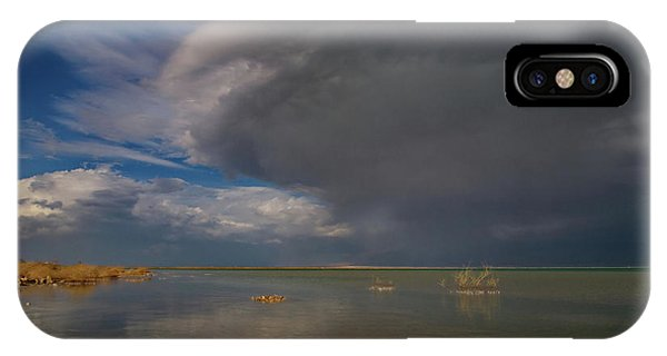 When The Storm Comes IPhone Case