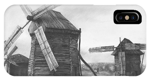 iPhone Case -  Wind Mills 2009 by Denis Chernov
