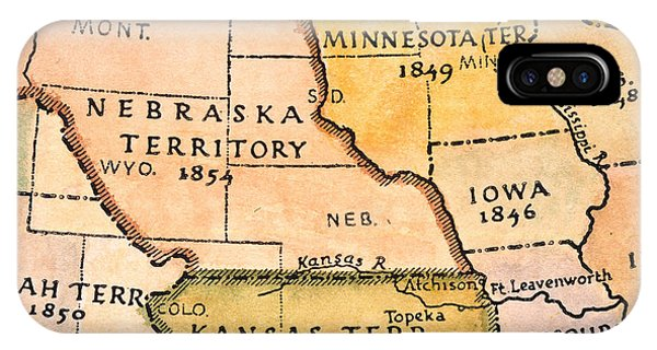 Kansas Nebraska Act iPhone Cases | Fine Art America