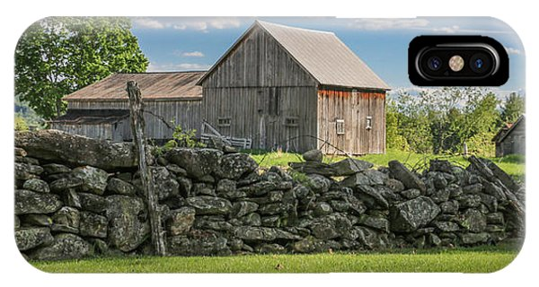 #0079 - Robert's Barn, New Hampshire IPhone Case