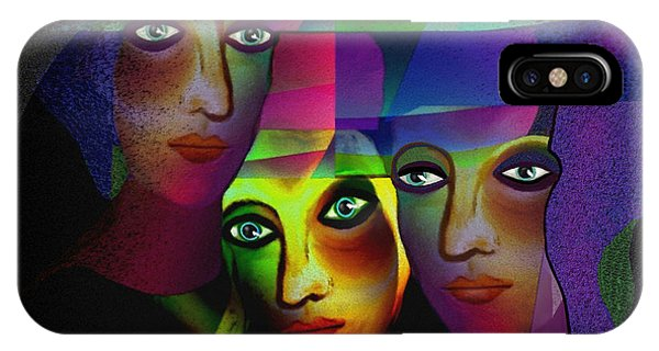 008   Sisters In Pride A IPhone Case