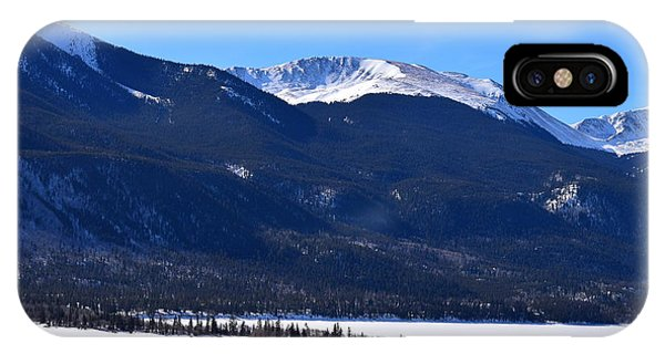 IPhone Case featuring the photograph Twin Lakes Leadville Co by Margarethe Binkley