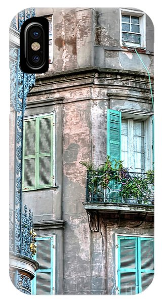 0254 French Quarter 10 - New Orleans IPhone Case