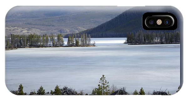 IPhone Case featuring the photograph Granby Lake Rmnp by Margarethe Binkley
