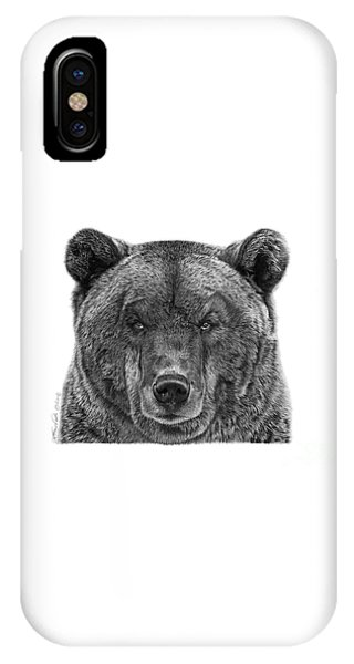 045 Papa Bear IPhone Case