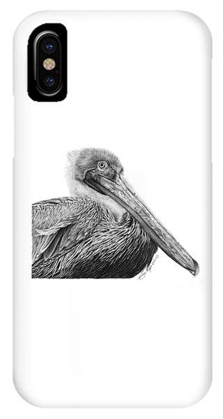 047 - Sinbad The Pelican IPhone Case