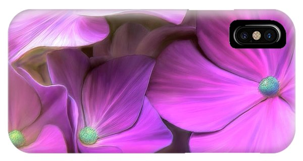 Hydrangea Florets IPhone Case