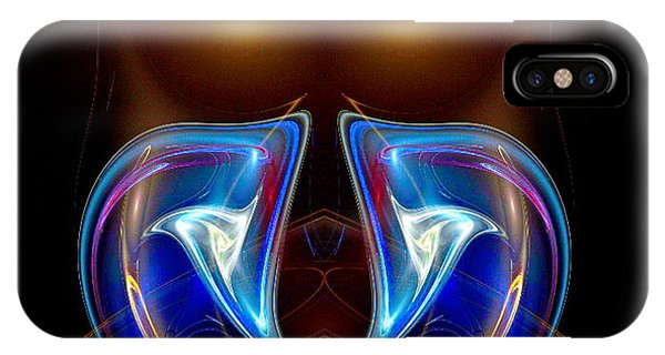 IPhone Case featuring the digital art #052320155 by Visual Artist Frank Bonilla