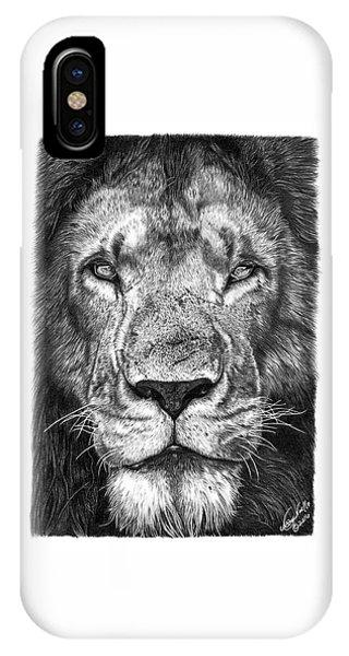 059 - Lorien The Lion IPhone Case
