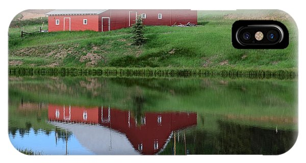 Red Barn Burgess Res Divide Co IPhone Case