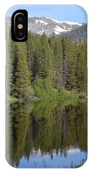 IPhone Case featuring the photograph Chambers Lake Hwy 14 Co by Margarethe Binkley