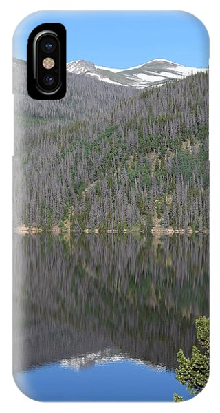 Chambers Lake Reflection Hwy 14 Co IPhone Case