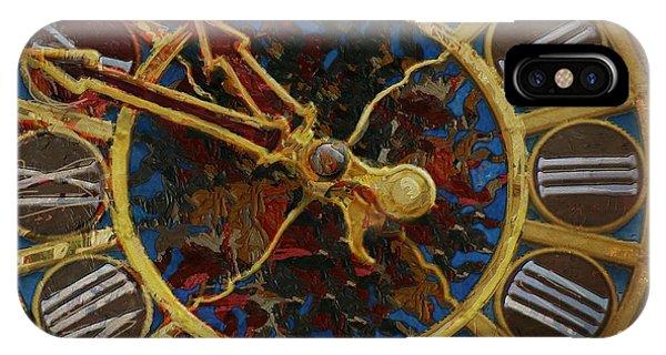 Clock iPhone Case - 082 Tiffany Clock by Mahnoor Shah
