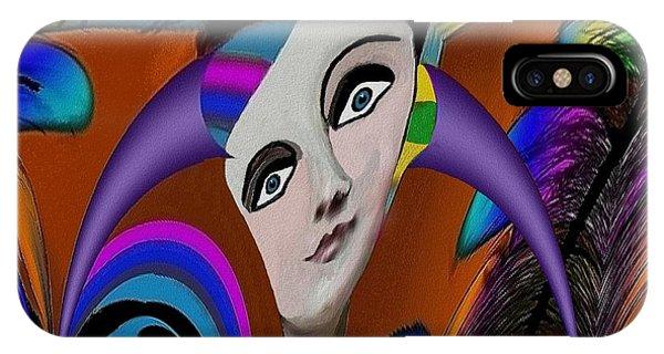 087 -   Flippy Girl  Phone Case by Irmgard Schoendorf Welch