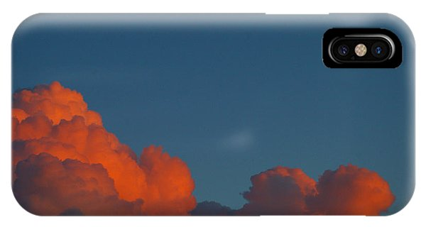 Fireclouds IPhone Case