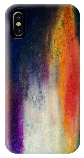 Standing Naked In The Mirror IPhone Case