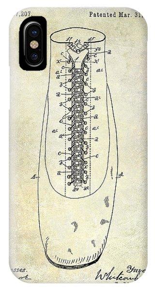 1896 Shoe Patent  IPhone Case