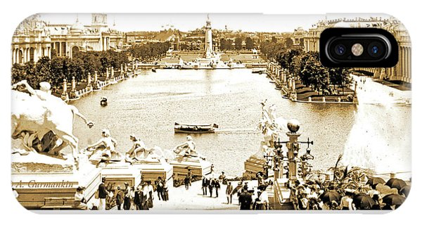 1904 World's Fair, Grand Basin View From Festival Hall IPhone Case