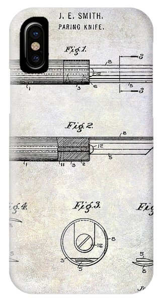 1920 Paring Knife Patent IPhone Case