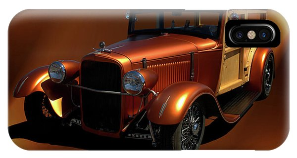 1929 Ford Model A Woody IPhone Case