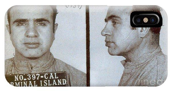 1939 Al Capone Mugshot IPhone Case
