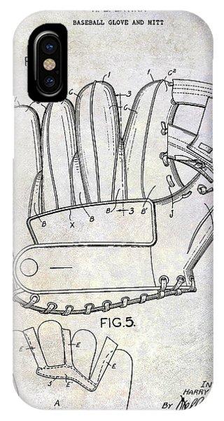 1943 Baseball Glove Patent IPhone Case