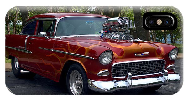 1955 Chevrolet Dragster IPhone Case