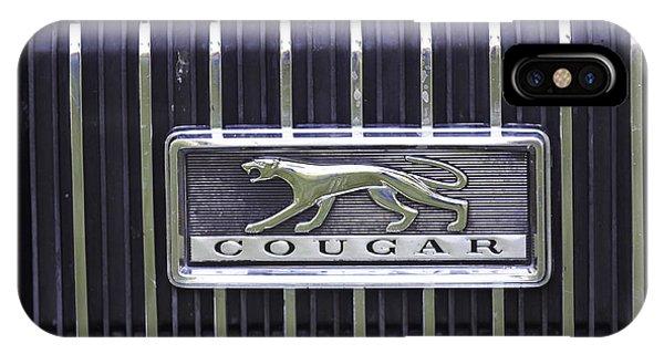 1968 Cougar IPhone Case