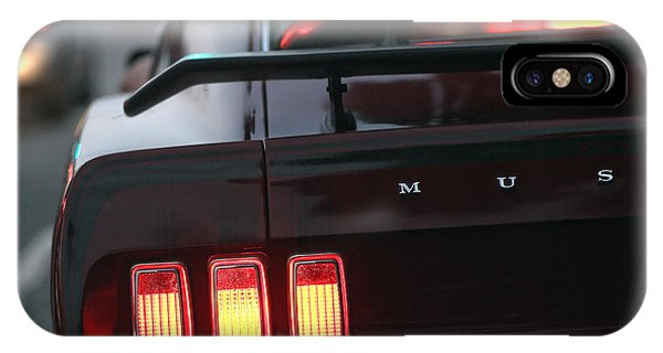 1969 Ford Mustang Mach 1 IPhone Case