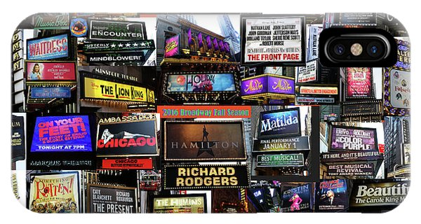 2016 Broadway Fall Collage IPhone Case