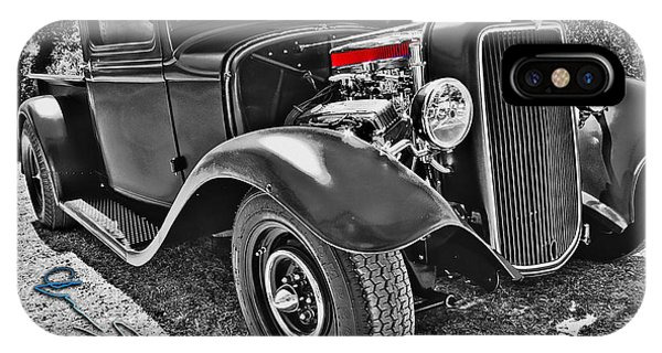 34 Ford Rat Rod Pickup IPhone Case