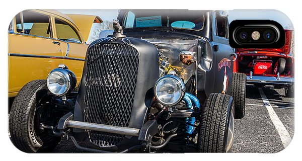 IPhone Case featuring the photograph 51 Ford F-1 Rat Rod - Ehhs Car Show by Michael Sussman