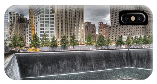 911 Memorial Hdr IPhone Case