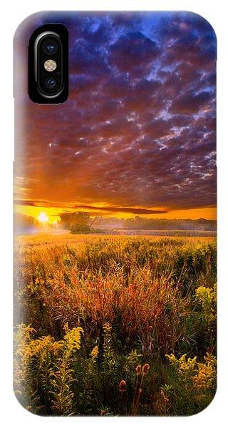 A Drifting Kiss IPhone Case