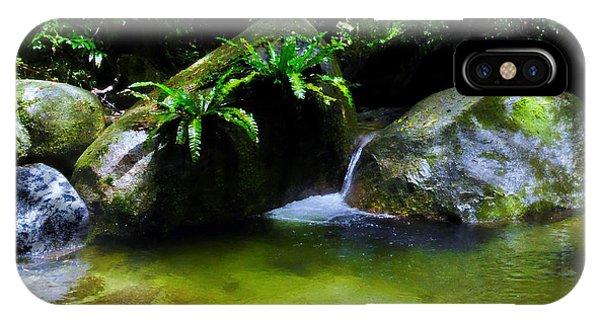 Far North Queensland iPhone Case - A Secret Space - Mossman Gorge, Far North Queensland, Australia by Lexa Harpell