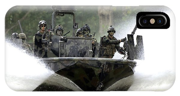 A Special Operations Craft Riverine IPhone Case