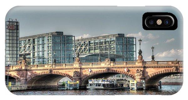 A View Under The Bridge IPhone Case