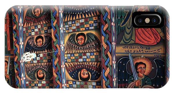 Abba Pantaleon Monastery, Axum, Ethiopia IPhone Case