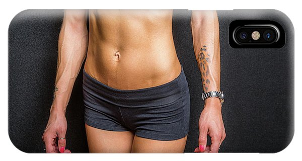 Abdominal Muscles IPhone Case