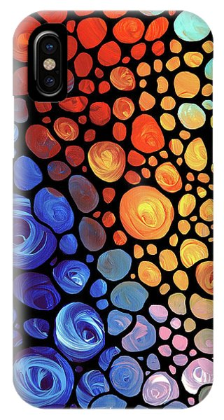 Primary Colors iPhone Case - Abstract 1 by Sharon Cummings