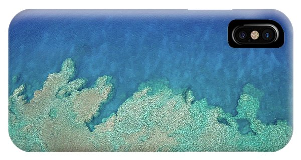 Abstract Aerial Reef IPhone Case