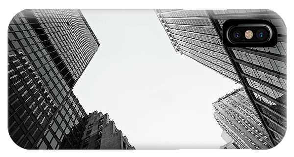 Abstract Architecture - New York IPhone Case