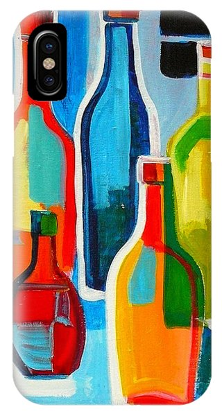 Abstract Bottles IPhone Case